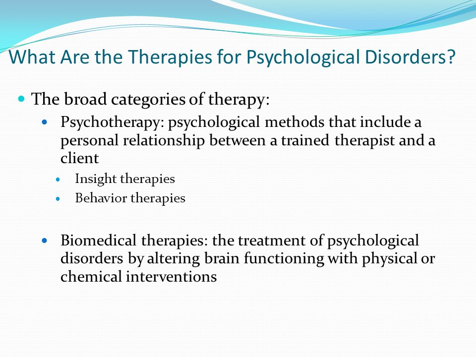 personality psychological disorders and therapy principles A personality disorder is a mental disorder involving a rigid and unhealthy pattern  of thinking, functioning and behaving.