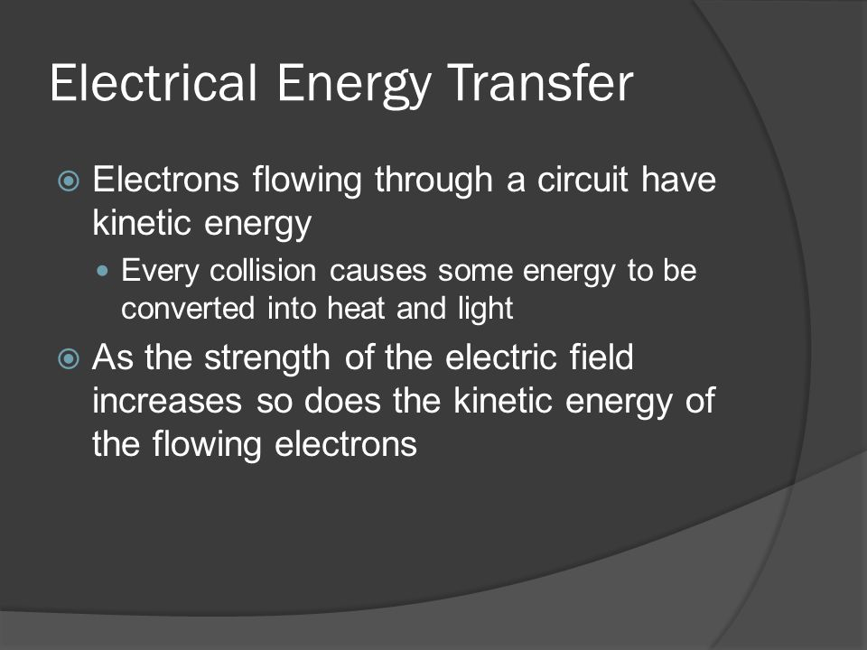 Electrical Energy Transfer