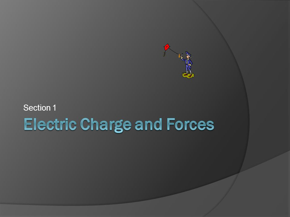 Electric Charge and Forces