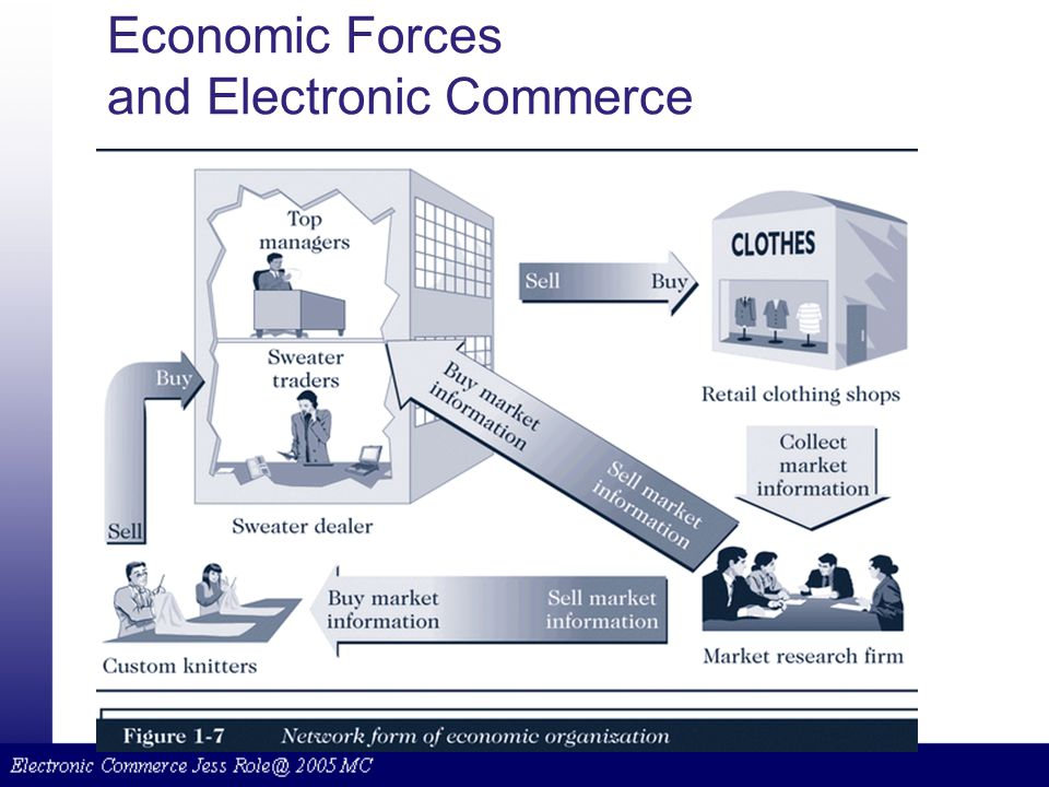 Economic Forces and Electronic Commerce