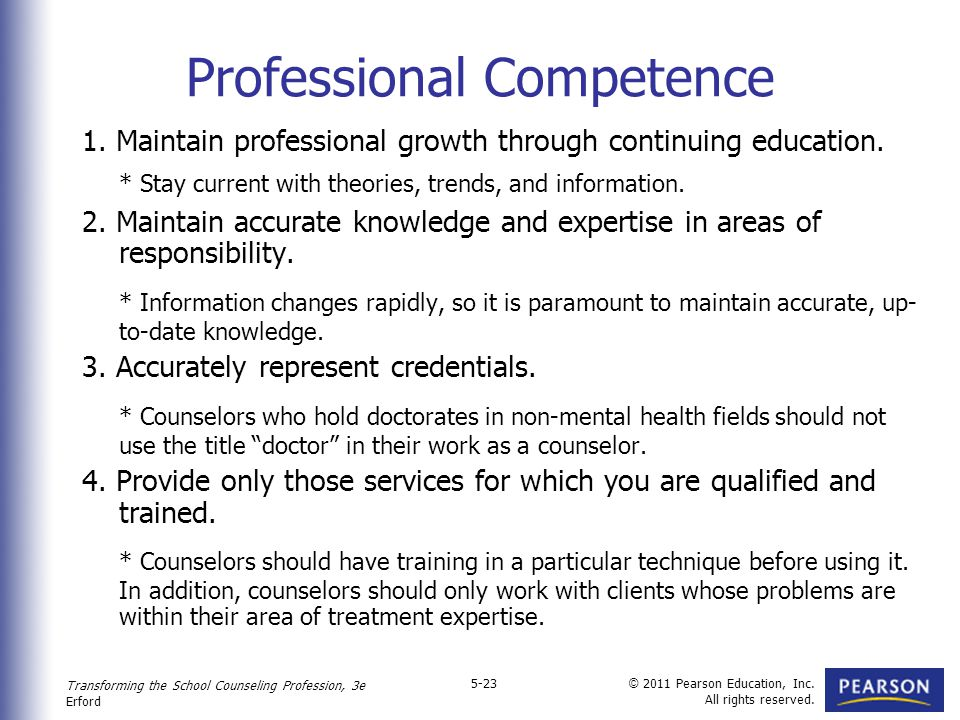 professional competence issues Section i: introduction 1: explore some of the issues related to professional competence and quality service delivery this implies two broad sets of inquiry.