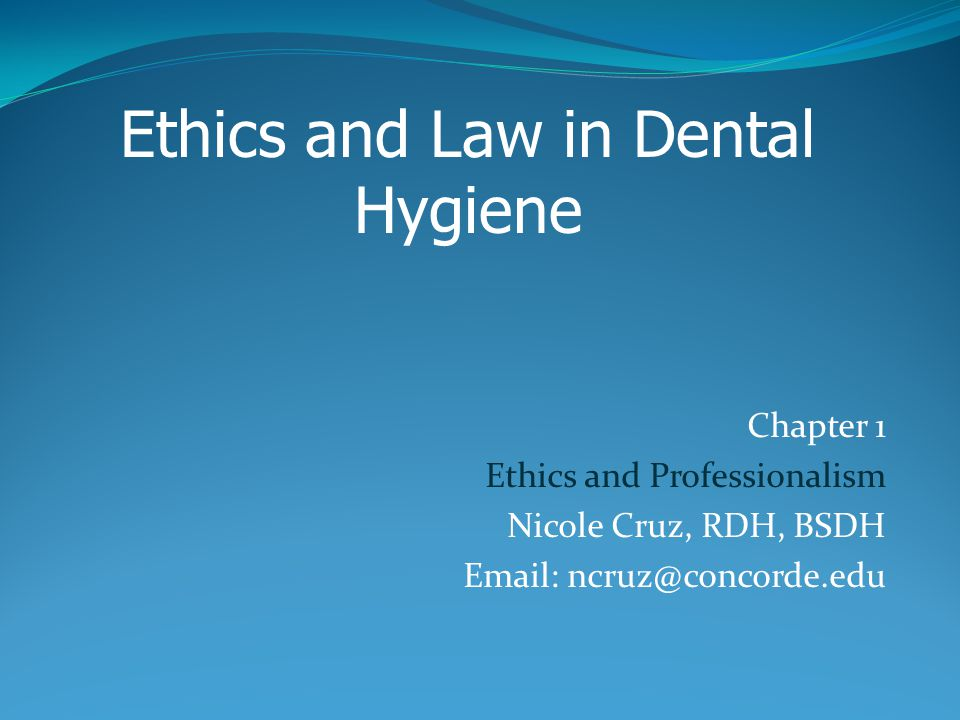 ethics and laws presentation