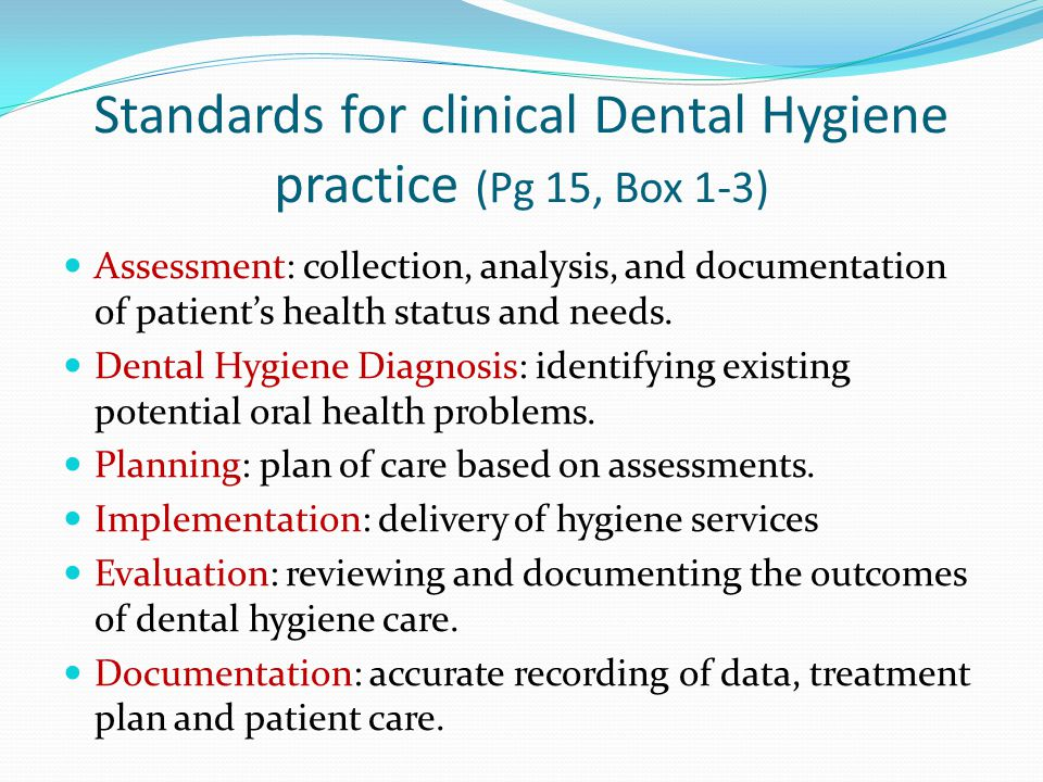 clinical practice of the dental hygienist pdf