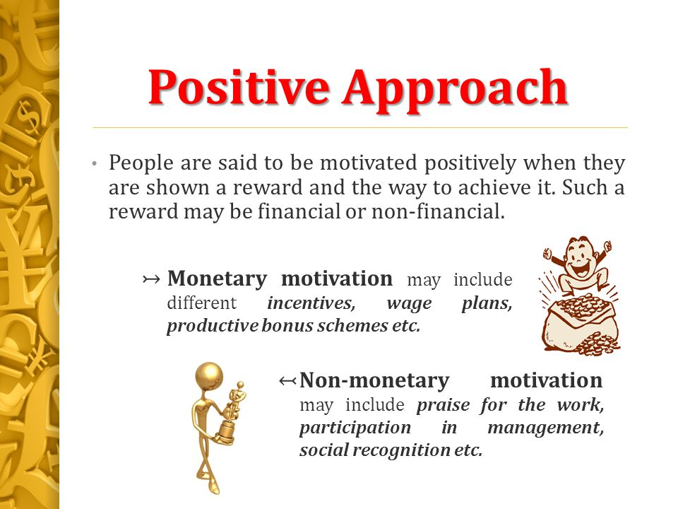 types of non financial motivation The study is based on the impact of non financial rewards like job recognition,job   management-definition-process-typeshtml 4 5 the term.