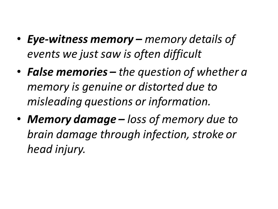 memory loss due to brain trauma In general, the smaller the degree of retrograde amnesia, the less significant the head injury another form of memory loss is called anterior grade amnesia in this case, events following the accident have been erased a good part of that is due to the brain injury itself complex systems in the brain are injured.