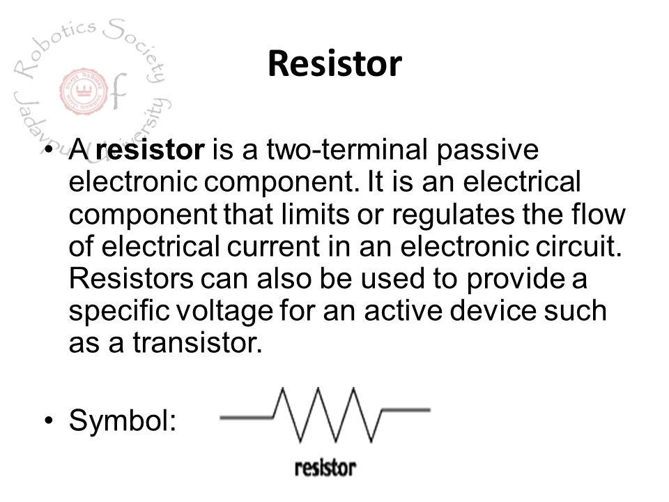 Symbol Of Electronic Component - Dolgular.com