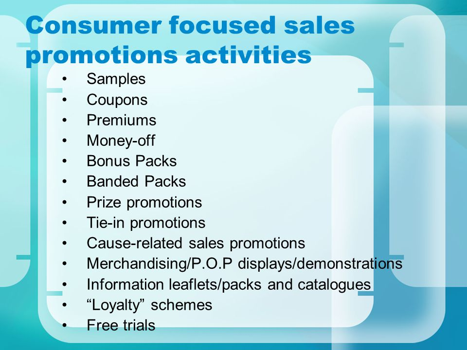 suggestions for sales promotion Sales promotions have been used for decades to great success, and no matter what your industry or the size of your business, there are sales promotion tips and techniques that can benefit you with so many ways to promote your business with or without money , there is no need to suffer from sluggish revenue.