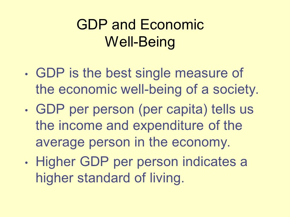 gdp is the best measure of a The growth rate of gdp tells how rapidly the country's level of ___ is rising or falling over time-production the measure of gdp that has not been adjusted for changes in prices is called:-nominal gdp growth in nominal gdp over time can be caused by:-an increase in both prices and production over time.