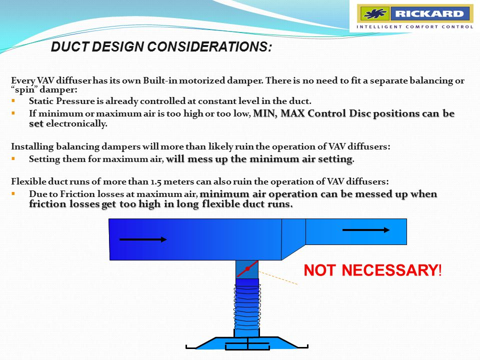 Where Can I Get High Pressure Air : Variable geometry vav systems system and duct design
