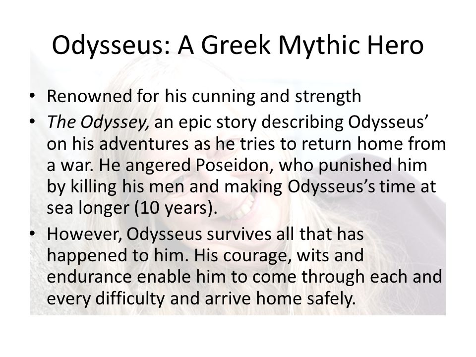 the odyssey odysseus cunning The odyssey has been a significant story in literature, one reason is because of odysseus odysseus is a great hero renowned for his shrewdness, cunning, and bravery.