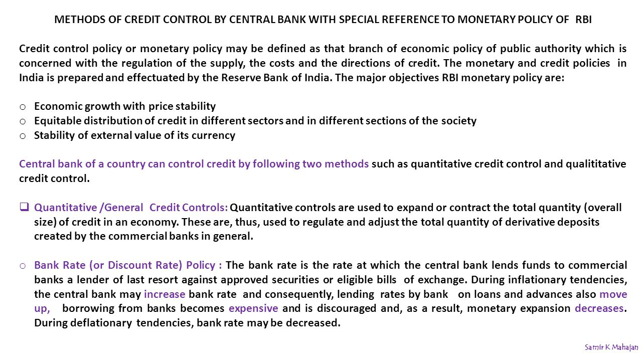 objectives of monetary policy in india pdf