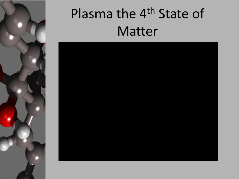 plasma the 4th state of matter This figure shows the four common states of matter: solid, liquid, gas, and plasma consider water as an example  plasma is known as the fourth state of matter.