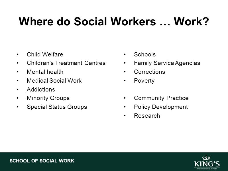 if i were a social worker Why i became a social worker  her tertiary social work study interests were in child protection and family mediation but as she progressed through the learning.