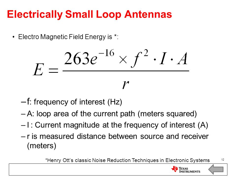 Electrically Small Loop Antennas