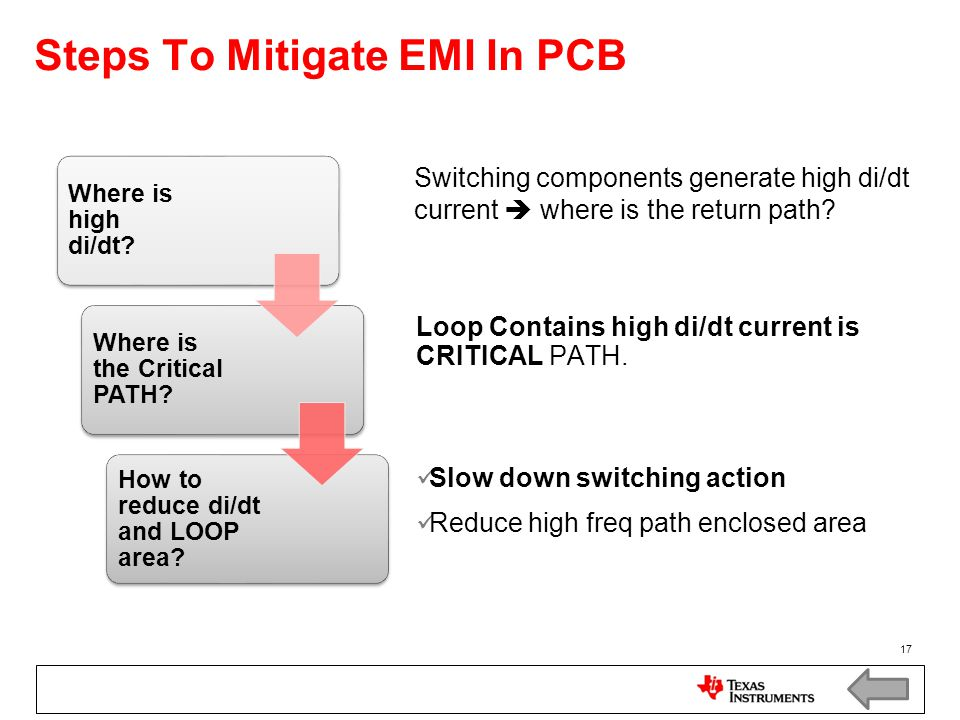 Steps To Mitigate EMI In PCB