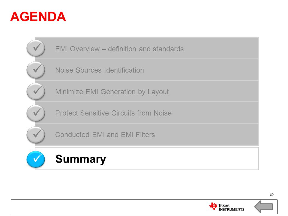 AGENDA   Summary EMI Overview – definition and standards
