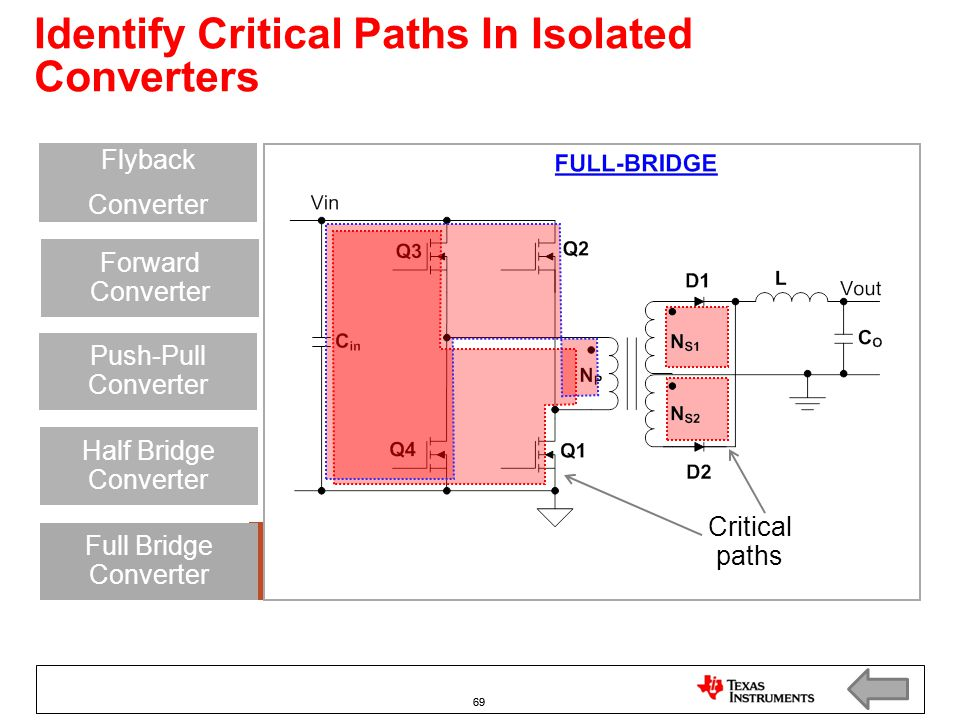 Identify Critical Paths In Isolated Converters
