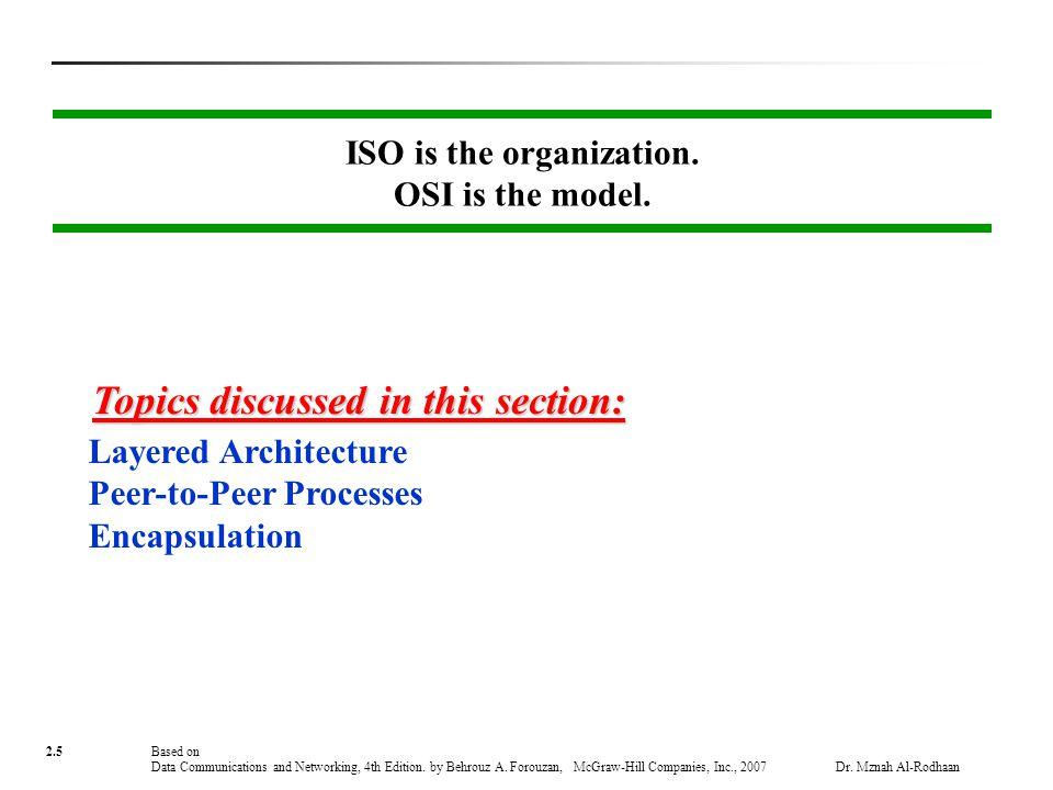 iso osi layered architecture pdf