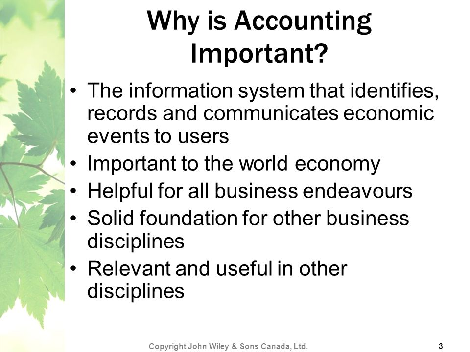 CHAPTER 1: Accounting in Action - ppt download