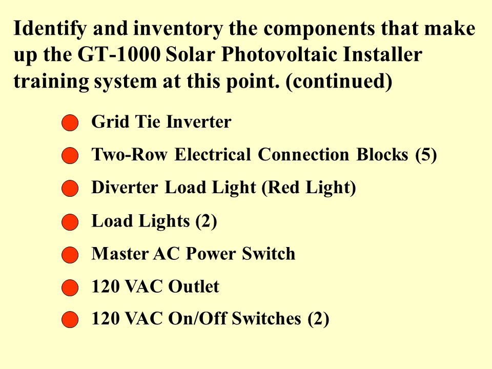 Identify+and+inventory+the+components+that+make+up+the+GT 1000+Solar+Photovoltaic+Installer+training+system+at+this+point.+%28continued%29 figure 1 the gt 1000 solar pv technology panel ppt video online ducati gt 1000 wiring diagram at suagrazia.org