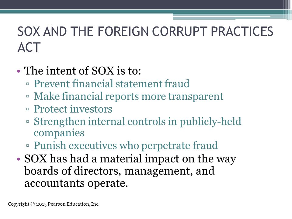 foreign corrupt practices act pdf