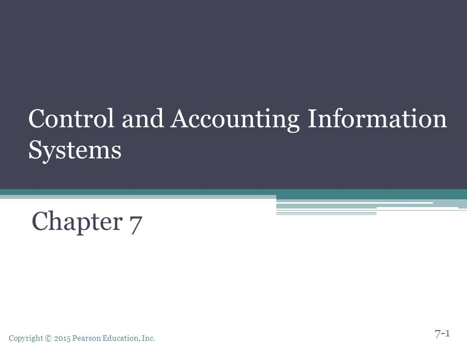 an introduction to the two controls for each of the ais information system applications An accounting information system is the collection an accounting information system (ais) is the collection internal controls an integral part of accounting information systems relates to internal controls.