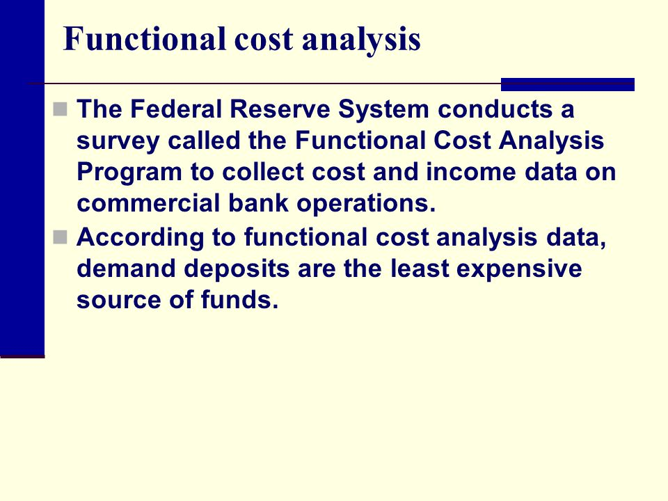 an analysis of the federal reserve system Federal reserve system structure and functions federal reserve bank of atlanta the federal reserve l ike most industrialized nations, the united states has a central.