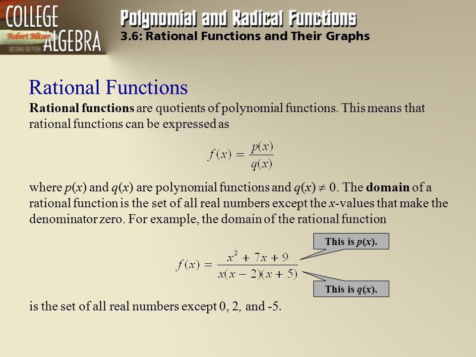 36 Rational Functions And Their Graphs Ppt Video Online Download