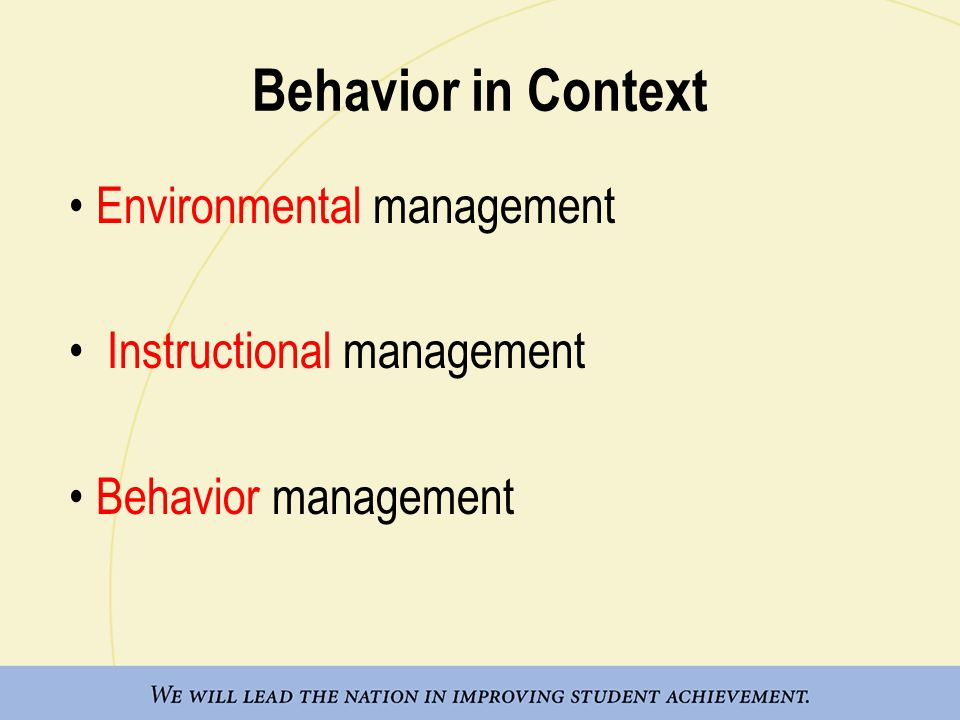 instructional management in schools
