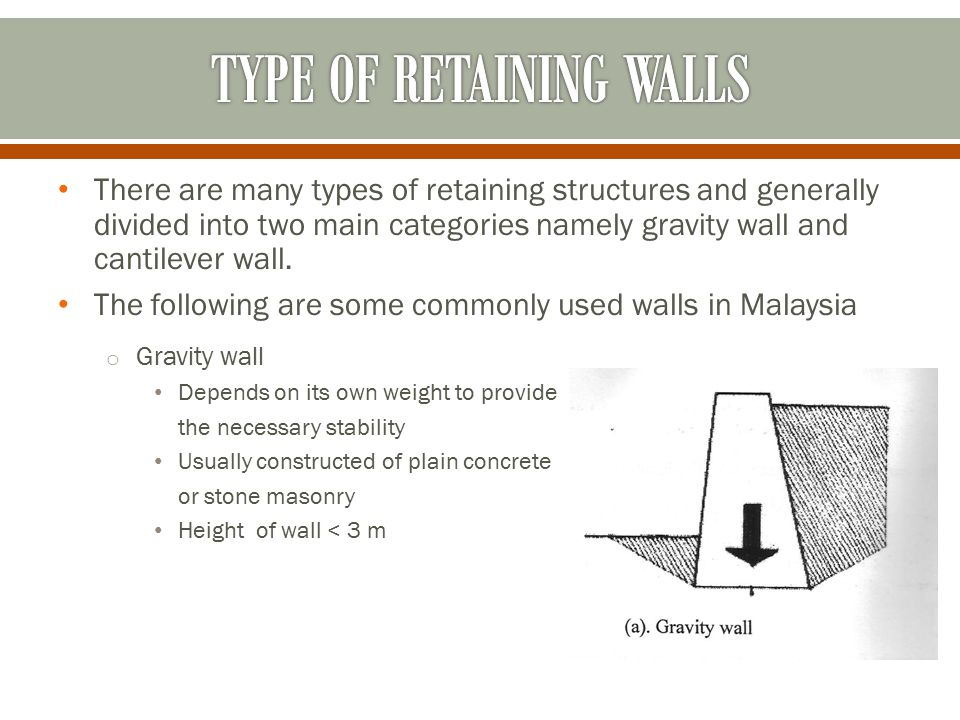 Ert352 Farm Structures Retaining Wall Design - Ppt Video Online