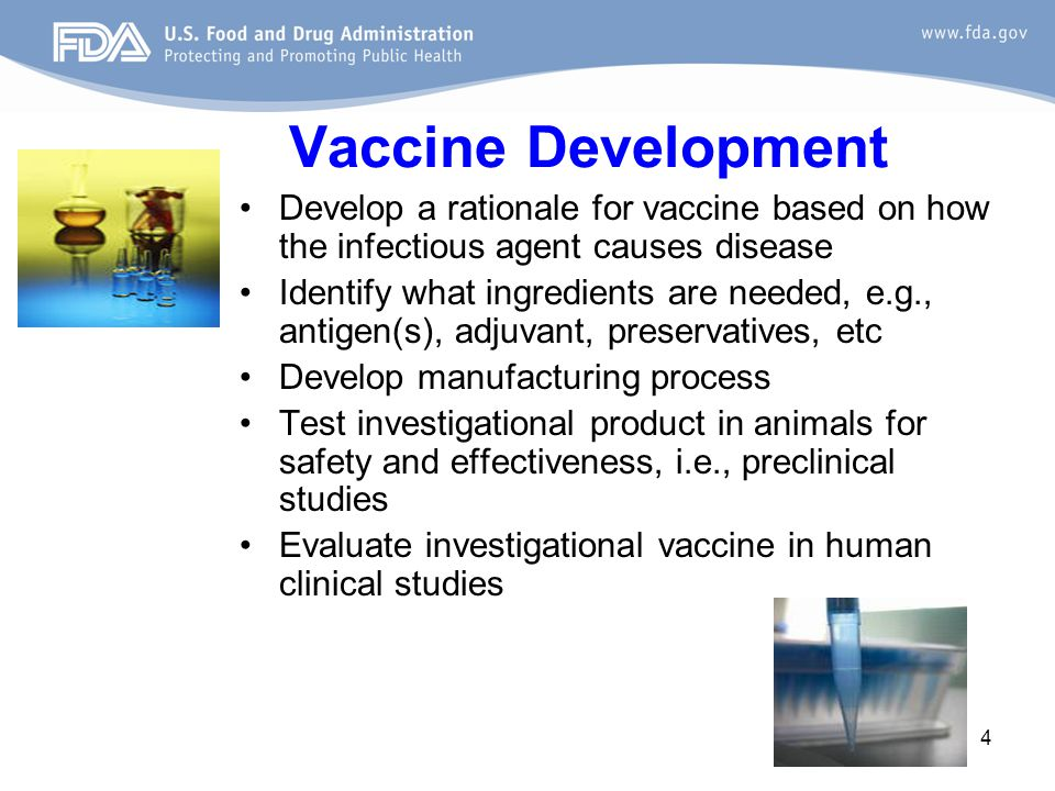 Ensuring Safety of Investigational Vaccines