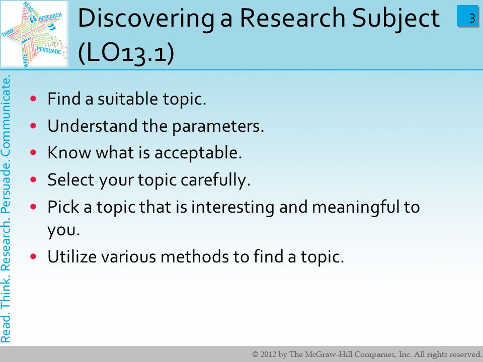 paper research subject Introduction if you have just been told that you have to write a research paper and feel a bit intimidated, we hope the following steps will.