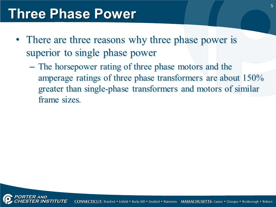 Three phase power three phase motors ppt video online for 3 phase motor on single phase power