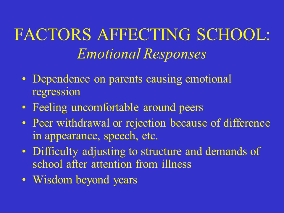 the effects of the lack of attention from parents problem causing attitude in school This lack of attention and affection from family get a pregnancy or an std parents need to take page essay about teenage pregnancy at my school.