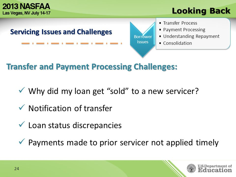 Transfer and Payment Processing Challenges: