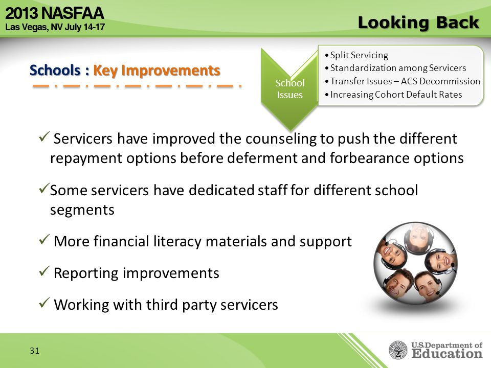 Schools : Key Improvements