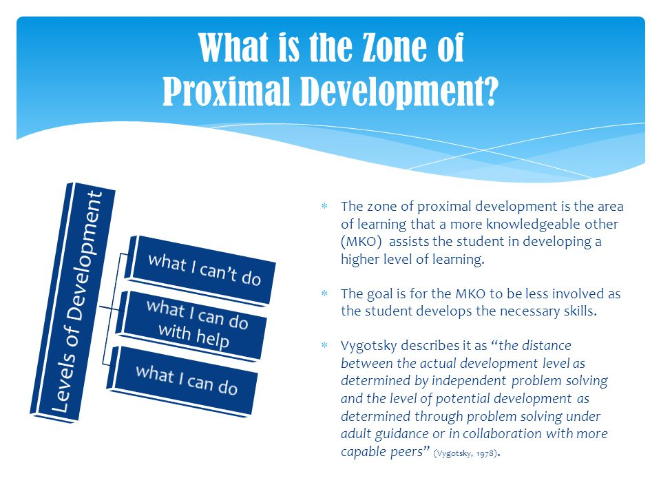 Summary Zone Of Proximal Development Dan Scaffolding Pada Teori