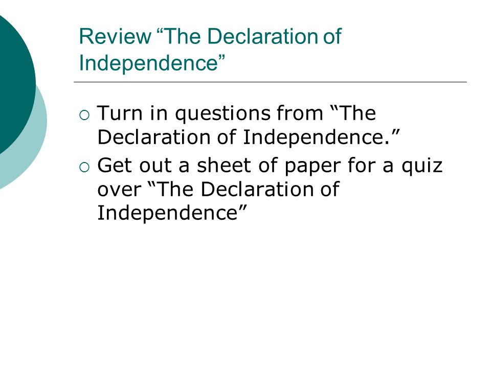 rhetorical analysis of the declaration of independence essay Rhetorical analysis of the declaration of independence - usa essay example thomas jefferson, former president of the united.
