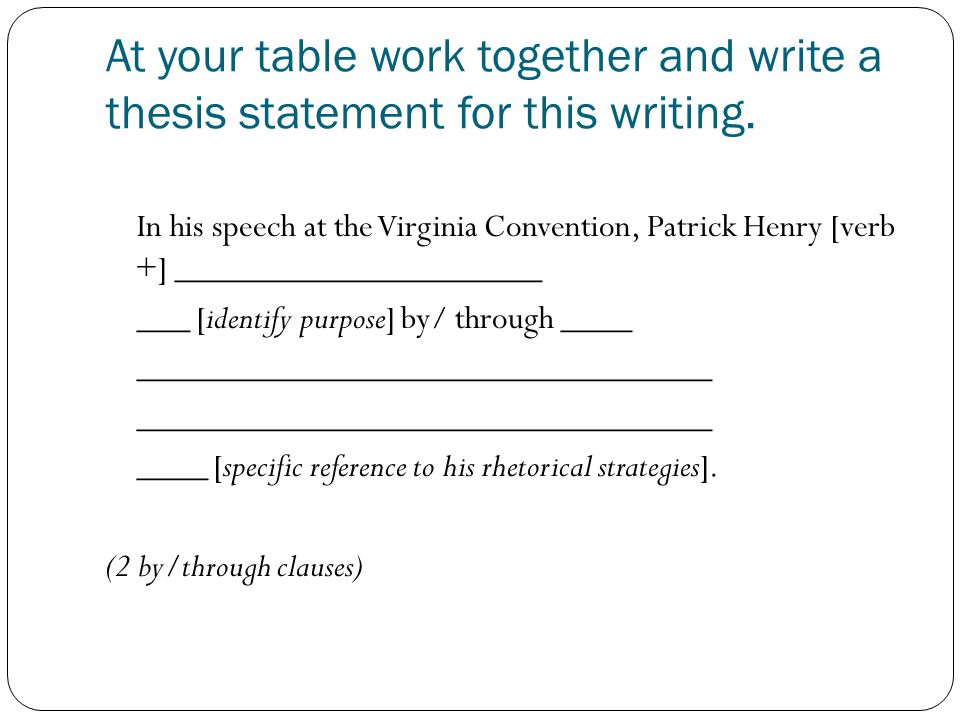 thesis of speech in the virginia convention 2017-6-16  the secession commissioners  speech of henry benning of georgia to the virginia secession convention speech of john preston of south carolina to the virginia.