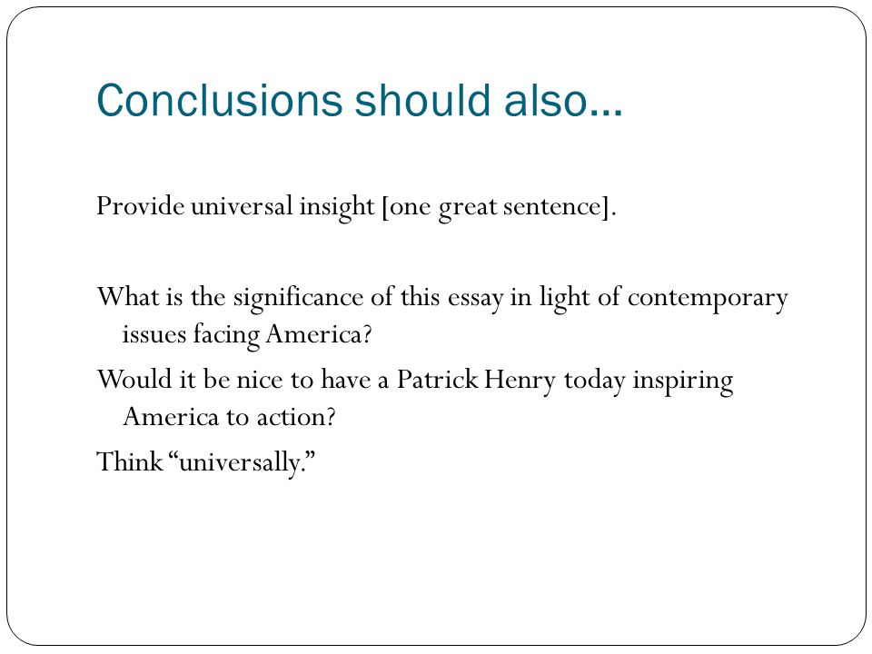 rhetorical analysis of an argument ppt video online  28 conclusions