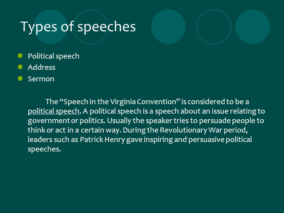 types of persuasive techniques in speeches In writing persuasive papers, the goal is to convince your audience your point of view is valid or your ideas are credible greek philosopher aristotle outlines three basic persuasion techniques: .