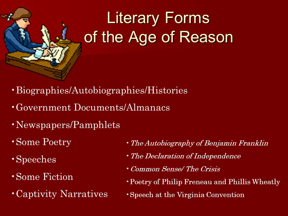 reasons why benjamin franklin represent the american enlightenment Because it emphasized human reason, the enlightenment led to the establishment of colleges and libraries in  such as thomas jefferson and benjamin franklin, were rich and well educated they made discoveries in botany and electricity  and the american revolution how did benjamin banneker's background and education prepare him for his.