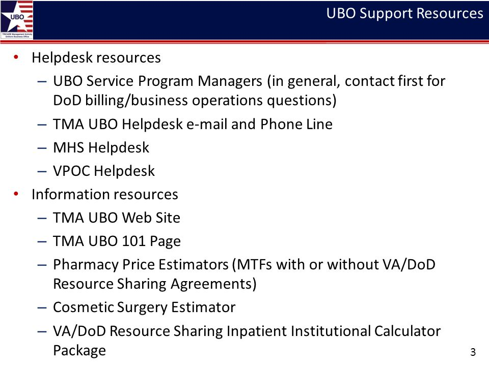 Ubo Support Resources Helpdesk Service Program Managers In General Contact First