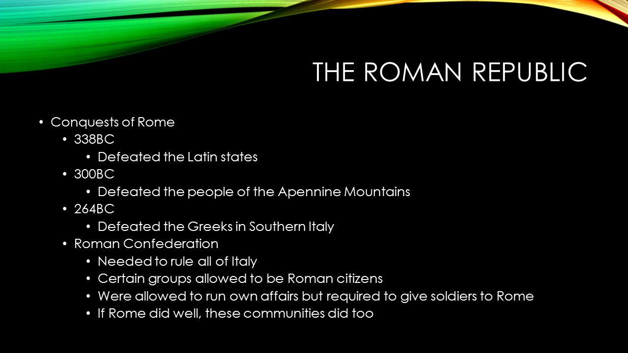 a look at the success of the roman republic Roman republic essay examples 32 total results an introduction to the history of the roman republic and the roman empire a look at the success of the roman.
