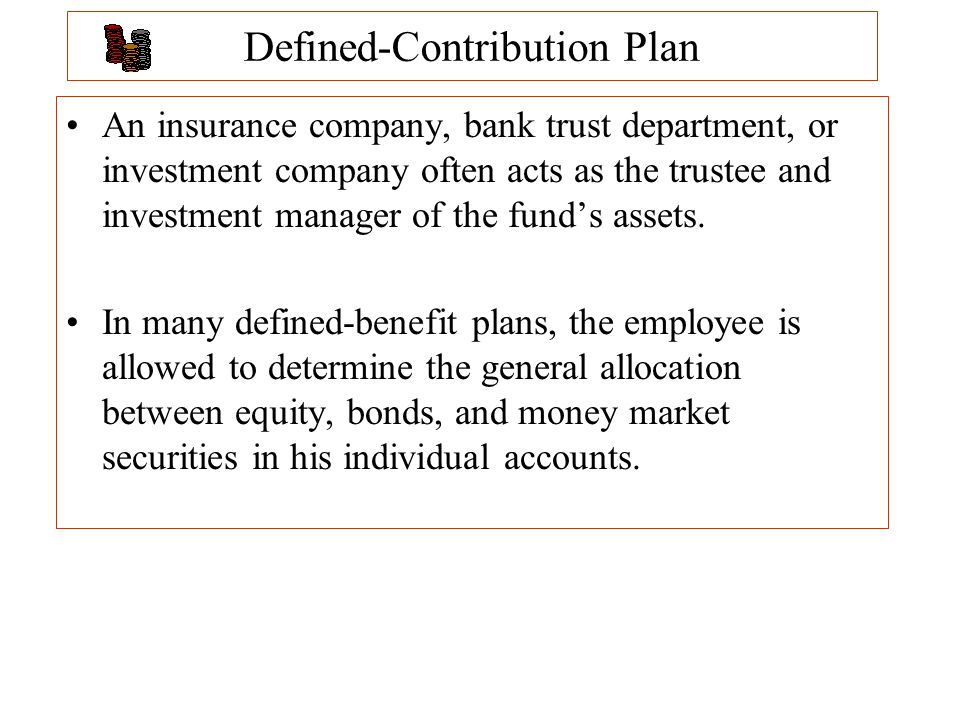 defined contribution plans The defined contribution (dc) landscape is changing rapidly when this happens , we need to redefine terms to better reflect the new environment here we.