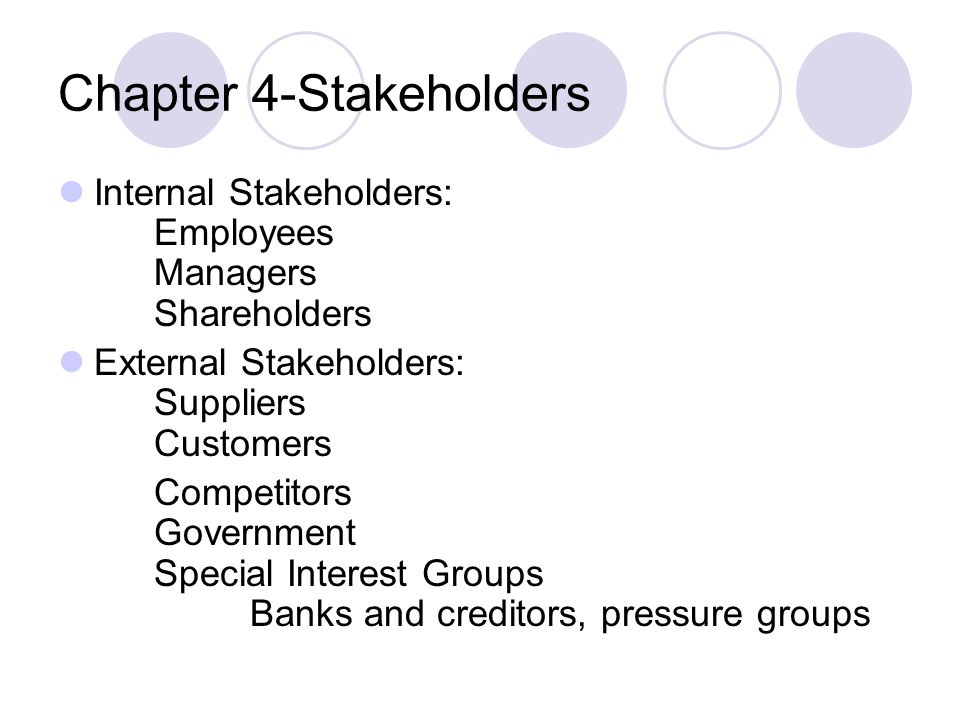 internal and external stakeholders healthcare This paper explores the integration of internal and external stakeholders in  in a  service innovation project at a german provider for medical appliances.