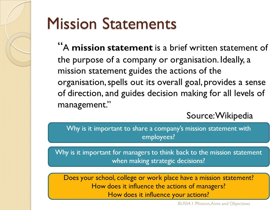 Understand school ethos mission aims and values