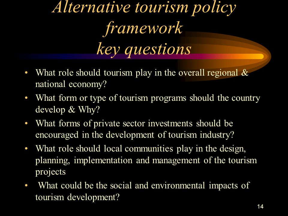 social and political impact of tourism
