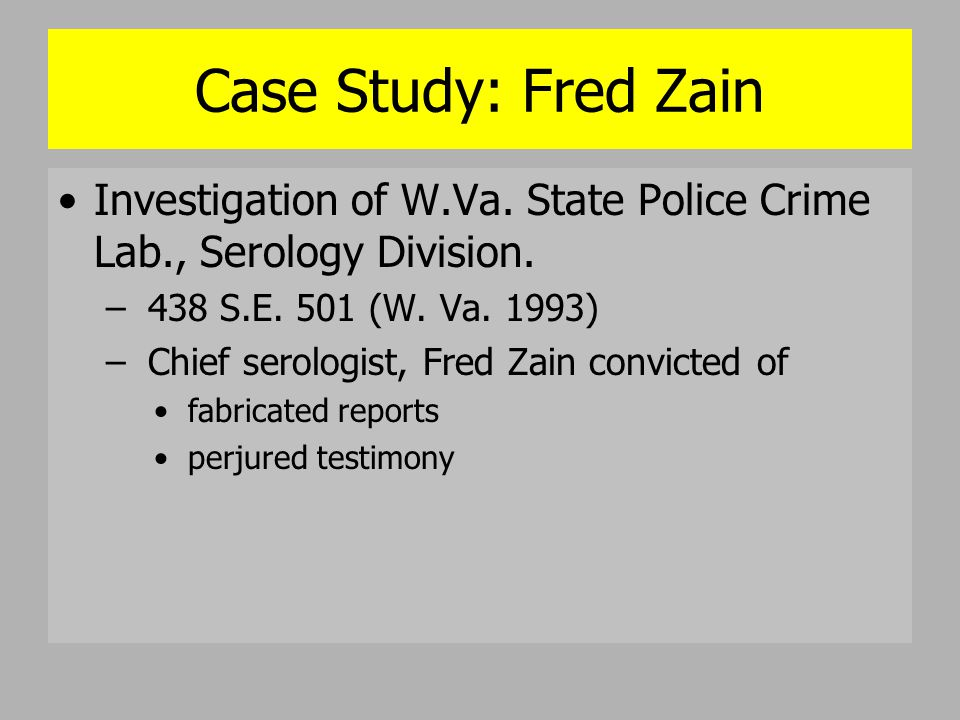 crime investigation case study View test prep - final project criminal investigation from ccjs 341 6381 at maryland final project - case study your assignment is to read the case study document in the course content.
