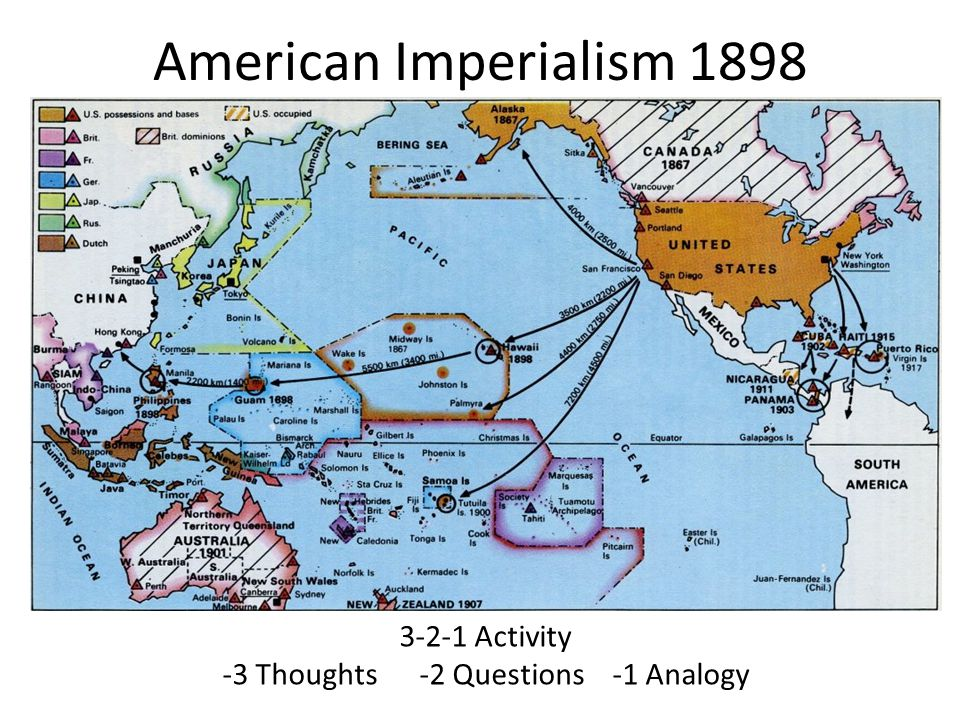 US History Ch American Imperialism Ppt Video Online Download - Us imperialism world map caribbean area latin america asia